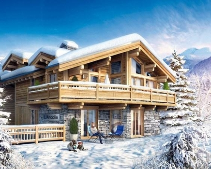 Holiday Ski Chalet in Les Brigues area, Haute-Savoie, France / Ancolie