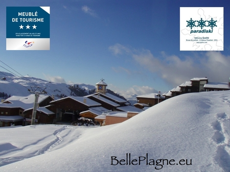 Beautiful Holiday Apartment Rental in Belle Plagne area of Savoie, France