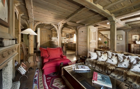 Courchevel Duplex Holiday Apartment Rental, at the foot of the slopes