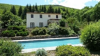 Holiday Villa with spectacular views and Large Pool Olargues, Natural Park in Herault, Languedoc - La Bellevue