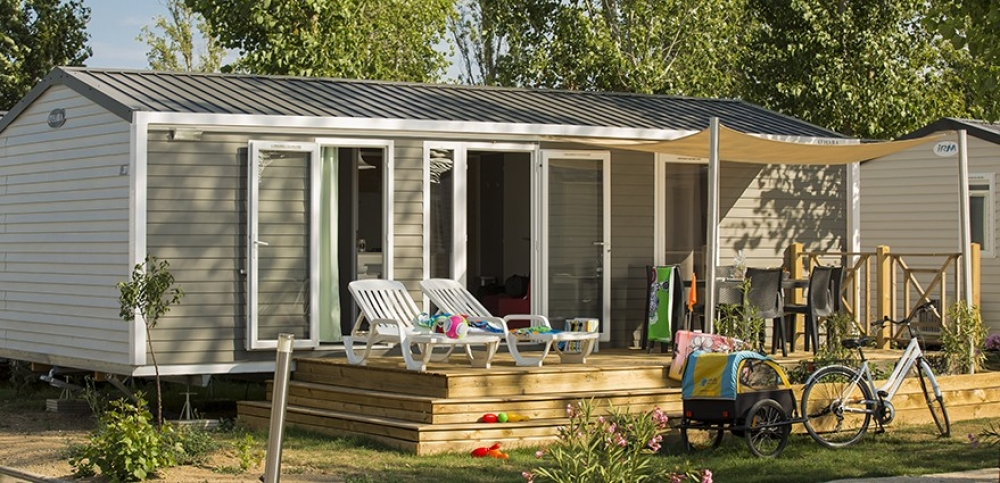 Mobile Holiday Home in Valras-Plage, Herault, France / Bungalow Muscat