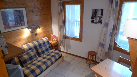 Studio Apartment to Rent in Valmorel, French Alps / Opposite Ski Lifts