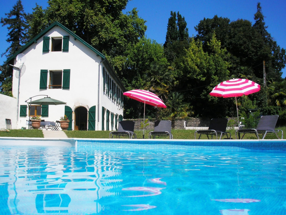Spacious village house with private pool, near Salies-de-Béarn, Aquitaine, France