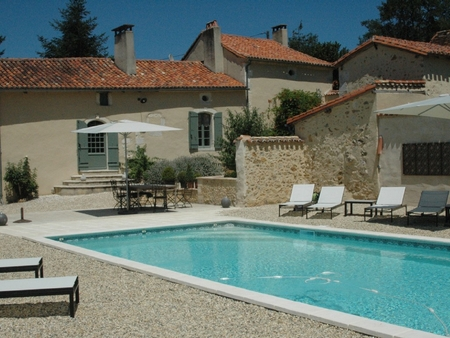 6 bedroom Holiday Farmhouse in Sourzac, Dordogne, France