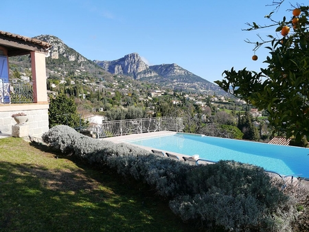 Vence Holiday Villa with Infinity Pool and Spectacular Views, Cote d`Azur