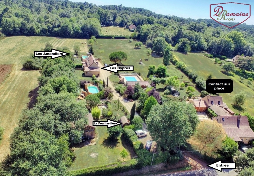 Holiday Cottage in St Julien de Crempse, Dordogne, France - Private Pool, Air-Conditioning