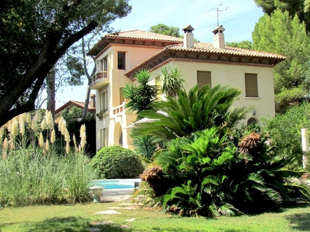 Cap d`Antibes Holiday Villa Rental with Private Pool and Sea Views