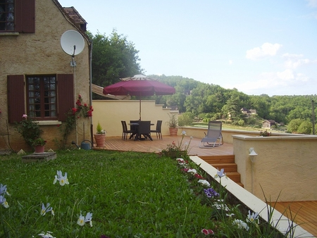 Beynac Holiday Chalet in Perigord Noir, Dordogne, South-West France