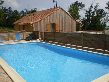 Country Riberac Holiday Home with Shared Pool, Dordogne, France