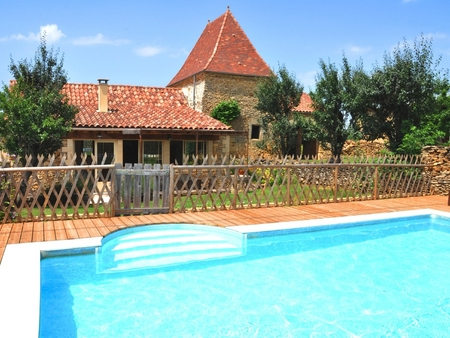 Beautiful Holiday Cottage with Private Pool, Perigord Noir, France