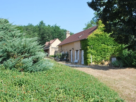Charming Holiday Cottages with Large Pool, Perigord Noir, Dordogne, France