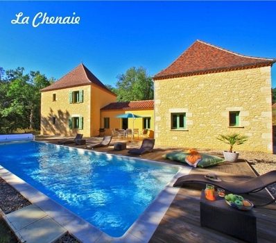 Beautiful Dordogne Villa With Private Pool in Sarlat, France