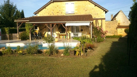 Beautiful Holiday House with Swimming pool, near Sarlat, Perigord Noir, Dordogne, France