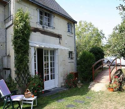 Peaceful Loire Holiday Cottage Rental in Fontevraud - l`Abbaye, France- La Goupiliere