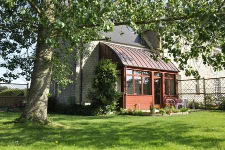 Holiday Renovated Cottage Rental in Sainte Mère Eglise, Manche, Normandy, France