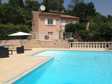 Secluded Holiday Villa Rental with Large Pool And Grounds, Nr Draguignan, Cote d`Azur, France