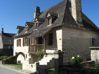 Charming Holiday Home for Rental in St Julien aux Bois, Correze, France - La Vieille Auberge