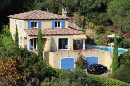 Modern Provencal Villa with Private Pool, Sea Views in Cavalière, Le Lavandou, Cote d`Azur