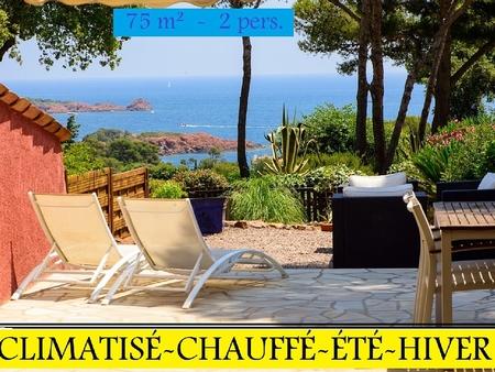 Luxury Holiday Home Rental in Antheor, Saint-Raphael, Provence - Beautiful Sea Views
