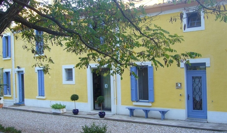 Charming Bed and breakfast in Laure-Minervois, Aude, France - Domaine du Siestou
