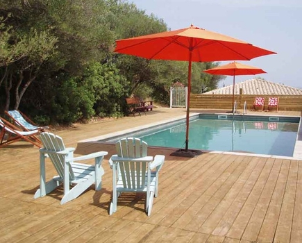 Holiday House Rental in Narbonne Park, near Leucate, 4km from Sea - Gite La Cabanne
