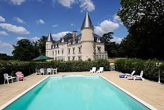 Fairytale Loire Valley Chateau With Fully Heated Pool - Chateau de Bois Giraud