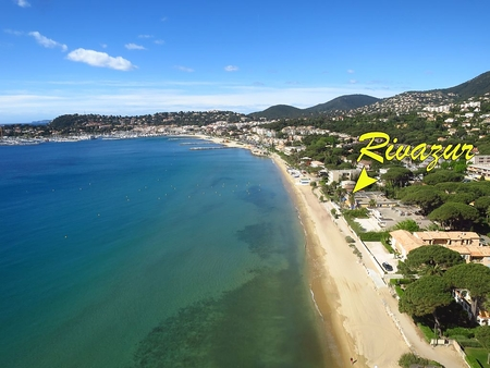 Cavalaire-sur-Mer Apartment Rivazur Beach Rental on the Beach, Gulf of Saint Tropez, France