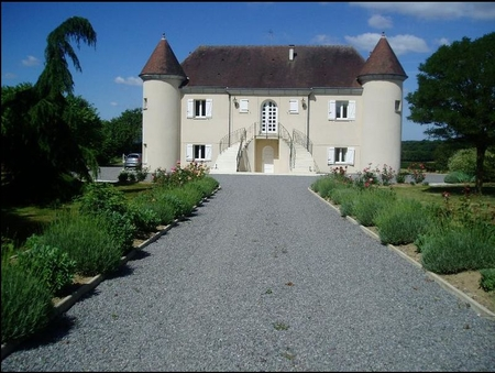 Beautiful Holiday Chateau, Creuse, France - Chateau de la Rapidiere