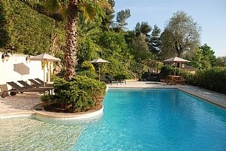 Villa with Pool and View to St Paul de Vence, Alpes Maritimes, France