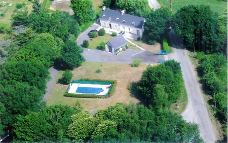 Morbihan Holiday Rental Farmhouse with Private Pool, Nr Melrand, Brittany - Le Matin Calme