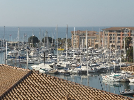 Port Frejus Apartment Rental with Beautiful Sea Views, France