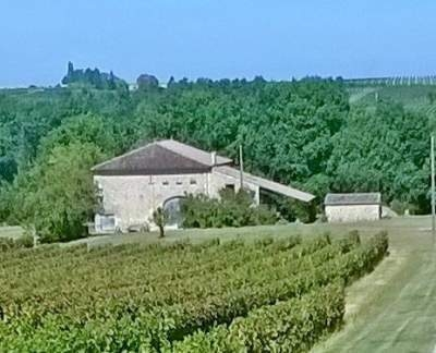 Secluded Ruch Holiday Home with Private pool, 15 mins St Emilion, Wi-Fi, short stay OK.