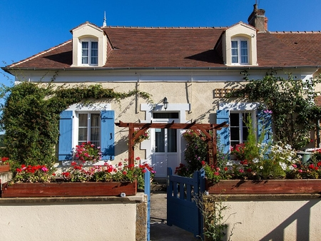 Self Catering Holiday Rental Gites in St-Civran, Indre, France - Rose Farmhouse