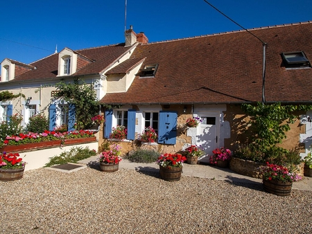Lovely Holiday Gites for Rental in St Civran, Indre, France - Sunflower Cottage