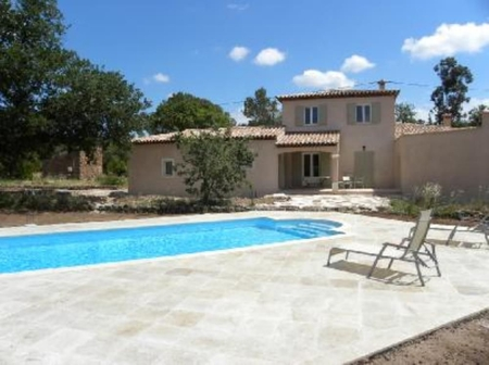 Fully Air-conditioned Provencal Holiday Villa with Pool, Cuers, French Riviera