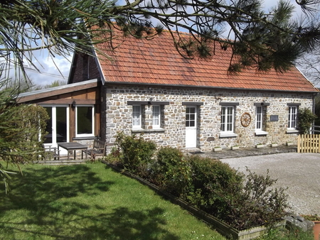 Traditional Cotentin Holiday Cottage in Manche, Normandy - La Croix Verte