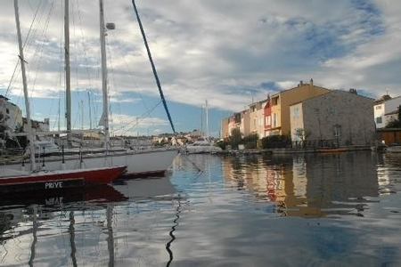 Fisherman House in Lakeside city of Port-Grimaud, Var, Provence