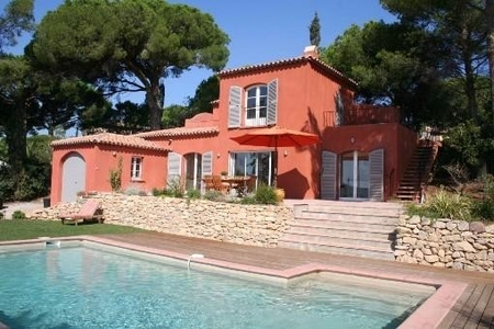 Holiday Villa in Sainte Maxime with Private Pool and Sea Views