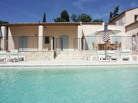 Spacious New Villa for Rental in Seillans, France