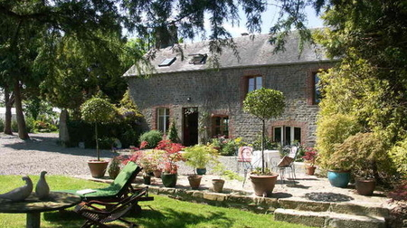 Bed and Breakfast in Normandy, Near Mont St Michel and the D-Day Beaches, France