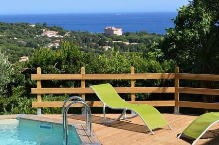 Detached Villa Rental with Private Pool, Les Issambres, Provence, France
