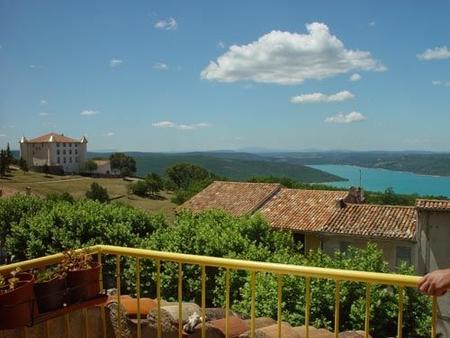 Holiday House near Gorges du Verdon, Aiguines, Provence,  France - Beautiful lake view, Sleeps 6