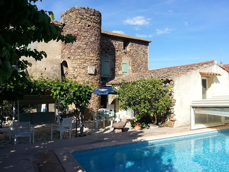 Charming Roquebrune-sur-Argens House in Large Provencal Garden, Private Pool