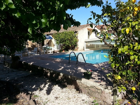 Roquebrune sur Argens Holiday Apartment, Set in Mansion with Private Terrace and Shared Pool