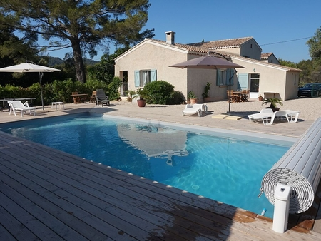 Var Holiday Villa Rental with Heated Pool in Le Castellet, Provence, France
