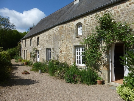 2 Bedroom Normandy Country Cottage Rental in La Pernelle, Manche, France
