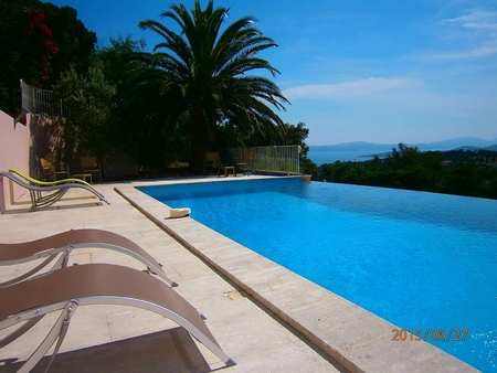 Wonderful Holiday House with Views Over Gulf of Saint Tropez, Les Issambres, Provence, France