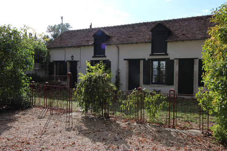 Typical Country House of the Loiret, France