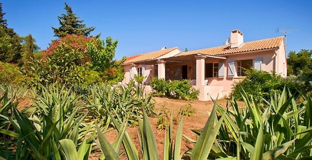 Porquerolles Island, Near Hyeres and Toulon, France - Villa Les Pechers, 2 Holiday Rental Apartments