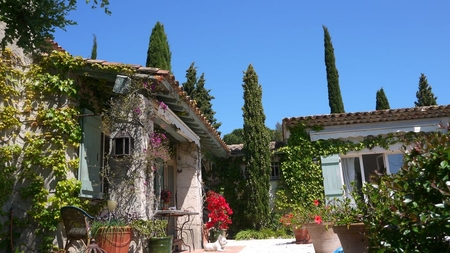Comfortable Le Lavandou Villa with Sea Views, Var, French Riviera
